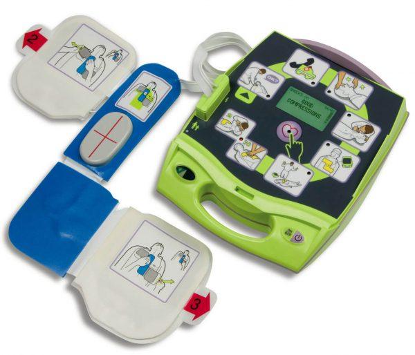 Zoll AED Plus desfibrilacion