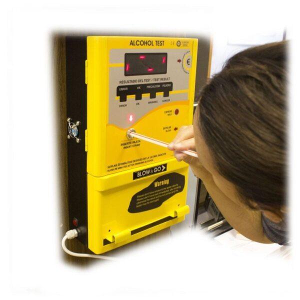alcoholimetro a monedas blow go cdp 4500 2