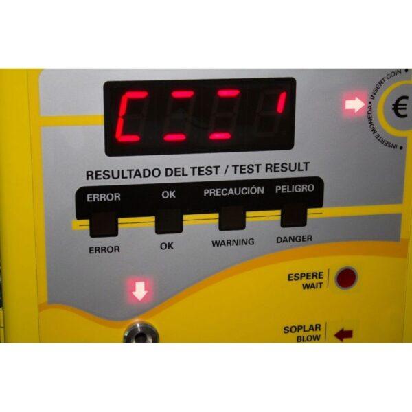 alcoholimetro a monedas blow go cdp 4500 4