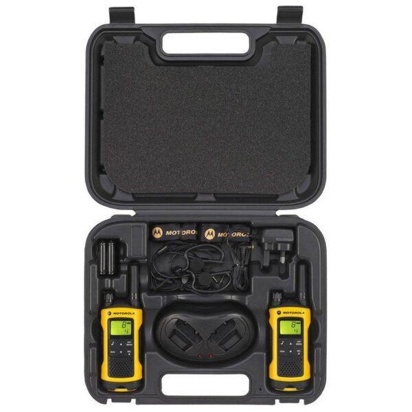 motorola t80 extreme pack walkie talkie 10km 8 canales 4
